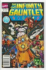 Infinity Gauntlet #1 Newsstand Variant (VF/NM) Thanos George Perez Marvel Comics