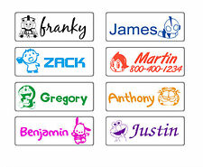 custom name stamp self ink school teacher children boy cartoon personalized gift
