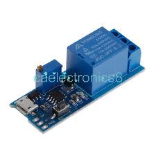 5v 30v Micro Usb Power Delay Relay Timer Control Module Trigger Delay Switch