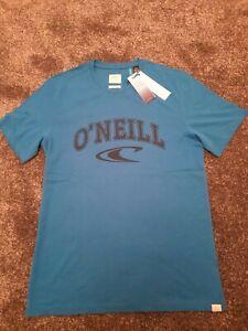 O'neill Brand Mens T-shirt Short Sleeve - blue size medium bnwt
