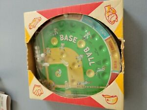 Marx Baseball Bagatelle game still in original box. Unused and vintage!