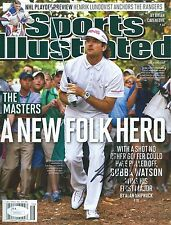 BUBBA WATSON Signed Autographed Sports Illustrated Magazine 2012 Masters JSA COA
