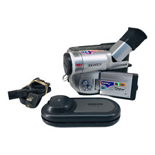 SamSung Scl700 Hi8 8mm Camcorder Ntsc with Ac Cable Battery Tested Working