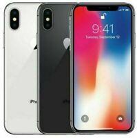 Apple iPhone X - 64GB 256GB - GSM Unlocked AT&T T-Mobile MetroPCS Cricket