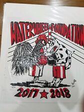 Jim Pollock Waterwheel Phish Poster Print 2017 - 2018 Rooster Vs Dog #187/300