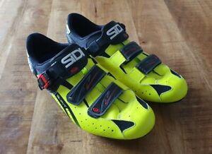 Rennradschuhe SiDi S-Fit Gr. 46 + Shimano SM-SH51 Cleats für SPD - SEHR GUT