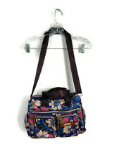 LikeKid NWT Floral Shoulder Bag Diaper Bag Tote Purse Travel Carry Purple Pink