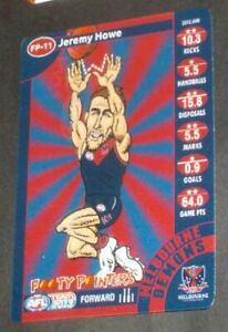 2013 Teamcoach Footy Pointers card Melbourne #FP-11 Jeremy Howe [collingwood]