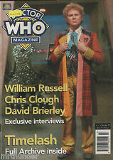 Doctor Who Magazine Issue 231 Sylvester McCoy Sohpie Aldred Comic Strip Articles