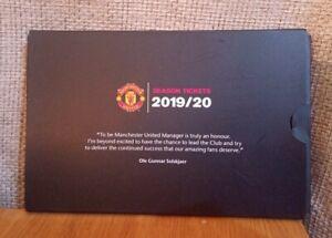Manchester United 2019/2020 Season Ticket Pack Inc Wallet, Badge + Pen