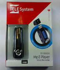 SK  TS1200GX - MP3 Player 2 Gb con Voice Recorder TELESystem