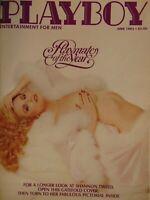 Playboy June 1982 | Playmate of the Year Shanon Tweed Lourdes Estores 1456+
