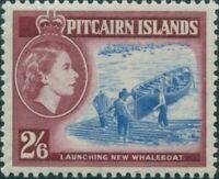 Pitcairn Islands 1957 SG28 2/6d Whaleboat MNH