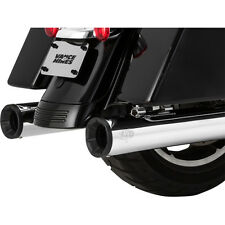 Vance & Hines Chrome Eliminator 400 Slip-On Mufflers with Black End Cap - 16708
