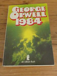 George Orwell: 1984 - Ullstein Taschenbuch (deutsche Ausgabe)