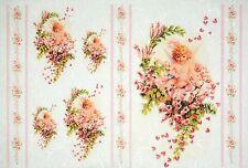 Carta di riso-angelo su fiore per Decoupage Decopatch foglio di ALBUM VINTAGE