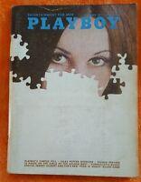 PLAYBOY MENS MAGAZINE SEPTEMBER 1971 JULES FEIFFER INTERVIEW PIGSKIN PREVIEW