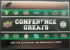 Nfl Upper Deck Conference Greats Football 2014 trading card box seald/embalaje original