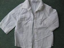 NEXT Lovely girls white 3/4 length sleeve blouse age 4 years