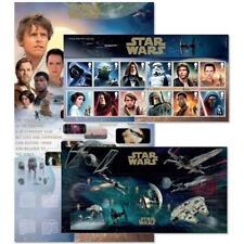 Star Wars British Colony & Territory Stamps