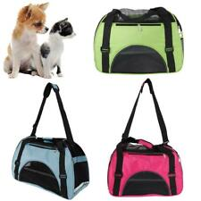 Pet Carrier Soft Sided Cat Dog Comfort Travel Tote Bag Travel Approved