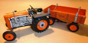 KUBOTA tractor + flatbed with KUBOTA inscription - MADE IN CZECH REP.