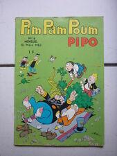 EDITION LUG / PIM PAM POUM  PIPO / NUMEROS  16  / MARS 1963