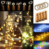 20 30 50LED Cork Shaped LED Copper Wire String Lights Wine Bottle For Xmas Decor
