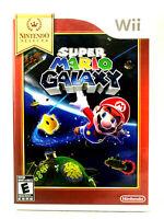 Wii Game Super Mario Galaxy Nintendo Complete