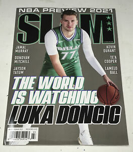 Slam Issue #230 Magazine FEB/MAR 2021 Luka Doncic WORLD WATCHING Cover No Label