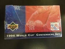 1994 WORLD CUP USA UPPER DECK CONTENDER SET EXCLUSIVE