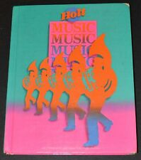 Music Textbook Hardcover Level 6 Holt, Rinehart and Winston Elementary