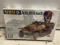 """AFV Club 1//35 AF35116 WWII German Sd.Kfz.251//20 Ausf.D /""""UHU/"""" Eagle Owl"""