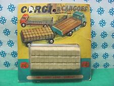 Vintage  -  LORRY LOAD CEMENT  Corgi Cargoes   -  Corgi toys 1488  - Mint in Box