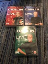 GEORGE CARLIN VERY BEST OF LIVE HBO SPECIALS VOLUME 1-3 12 DVD GENUINE REGION 2