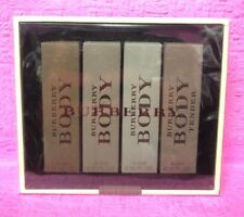 Burberry Body 4.5ml x 4 (2 Eau De Toilette + 2 Eau De Perfume) Gift Set for her