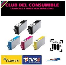 5 X CARTUCHOS COMPATIBLES  HP 364XL CON CHIP BK/C/M/Y NO OEM HP 364 XL