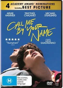 Call Me By Your Name : NEW DVD