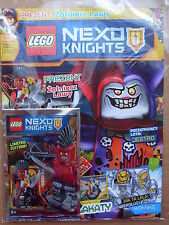 LEGO Nexo Knights Magazine 5/2016 + Lava Soldier - Limited Edition Minifigure