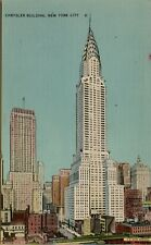 Chrysler Building and Surroundings New York City NY Postcard A11