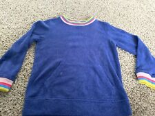 TWINS Girls Mini Boden Size 5-6y Purple Sweatshirt