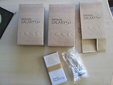 Lot 2 Original Genuine Samsung Galaxy S4 Empty Packing Boxes NO Phones