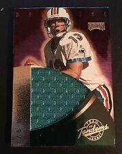 DAN MARINO 1999 Playoff Absolute TEAM TANDEMS Dual Sided JERSEY Card RARE