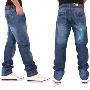Peviani Men's Boston Urban Denim Jeans, New Hip Hop Star Era G, Is Time Money