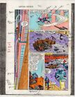 1986 Marvel Comics Captain America 316 page 22 color guide art: Avengers Hawkeye