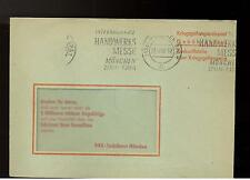 1959 Germany Red Cross Metered Stampless Prisoner of War POW Cover