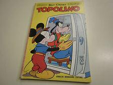 TOPOLINO NUMERO 347 DEL 22 LUGLIO 1962 , QUASI EDICOLA  CON FIGURINE,BOLLINO !