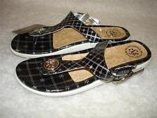 NWT $40 SOUTHPOLE Black Sandals Flip Flops Womens 7