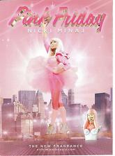 Pink Friday Nicki Minaj Fragrance  Print Ad 2012