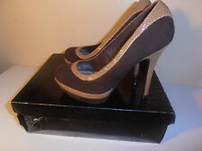 BABYPHAT SHOES DARK BROWN 6.0 100% AUTHENTIC PRETTY & CHEAP!!!!